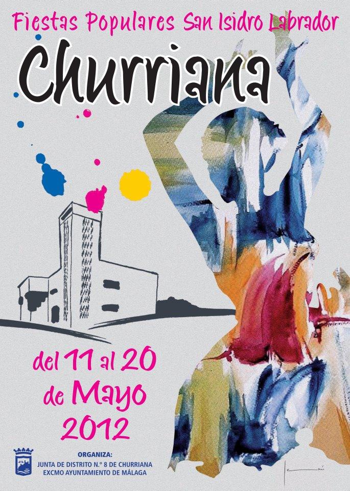 Cartel Feria Churriana 2012