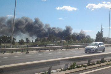 Incendio Villarosa
