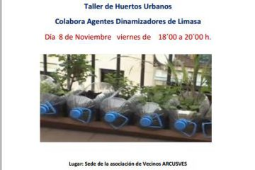 taller de huertos urbanos