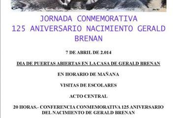 Jornadas Gerald Brenan