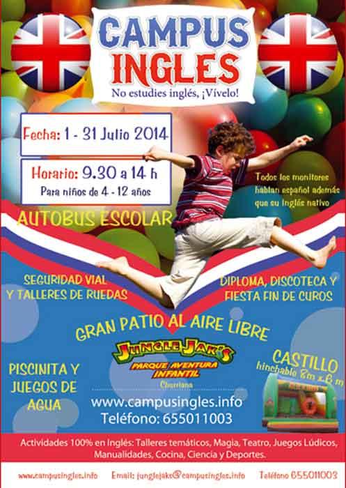 Campamento verano inglés