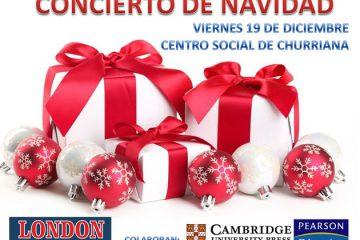 concierto navidad london