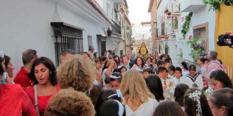 corpus christi en Churriana
