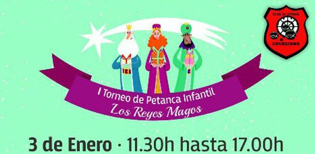I torneo petanca infantil en Churriana