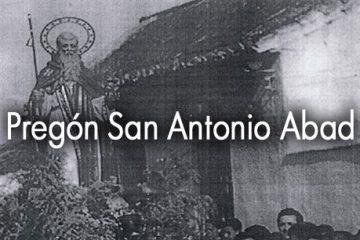pregon san antonio abad 2016
