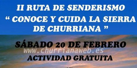 ii ruta senderismo Churriana