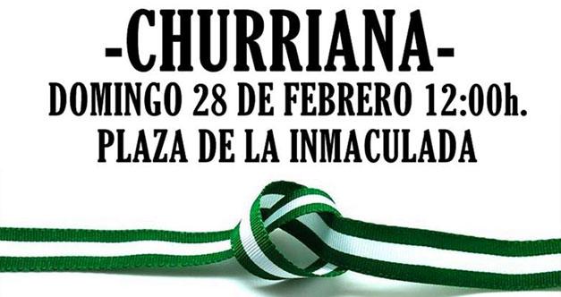 Día de andalucía en Churriana