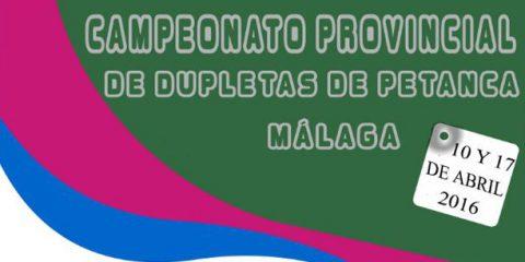Campeonato Provincial Petanca