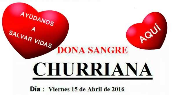dona sangre en la biblioteca de Churriana