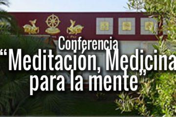 conferencia meditación budismo