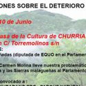 Reivindicaciones sobre el deterioro de la Sierra de Churriana