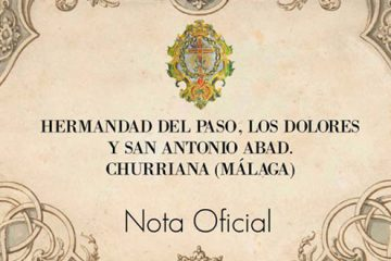 nota oficial hermandad Churriana