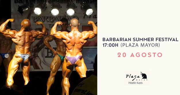 barbarian plaza mayor