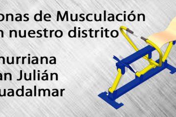 zonas de musculación en Churriana