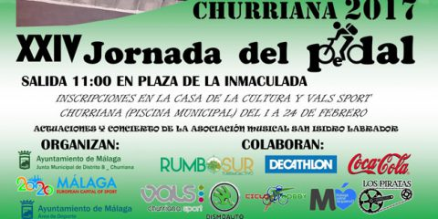 jornada del pedal churriana 2017