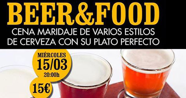 beer and food mediterranean
