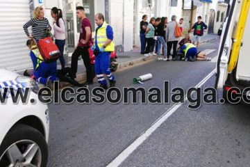 accidente calle torremolinos
