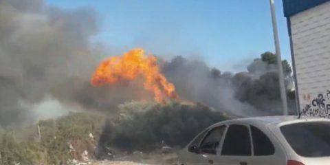 incendio el rompedizo