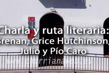 charla y ruta literaria
