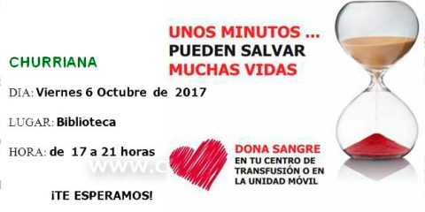 donar sangre churriana