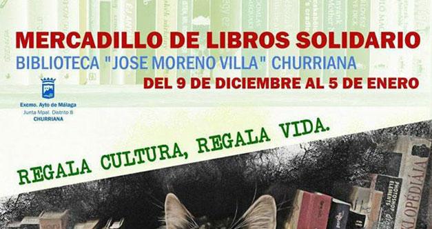 mercadillo solidario libros