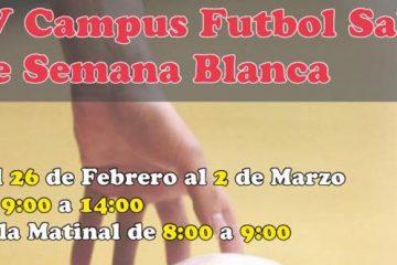 campus fútbol semana blanca