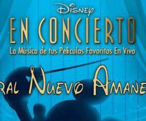 concierto coral nuevo amanecer disney