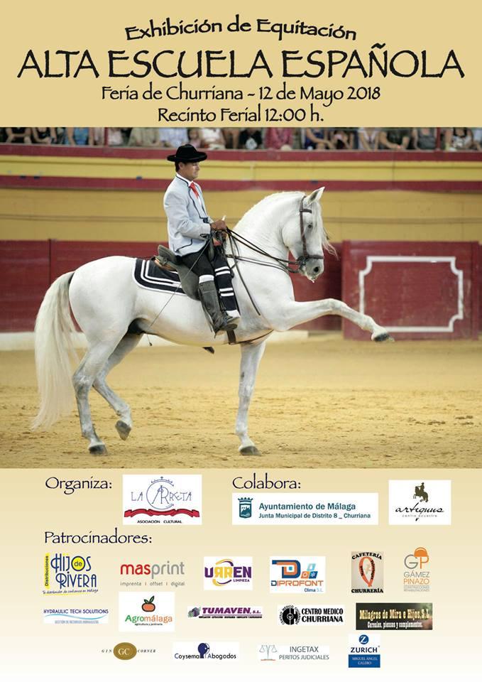 exhibición equitación