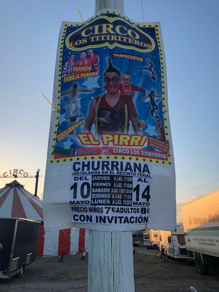 circo los titiriteros en churriana