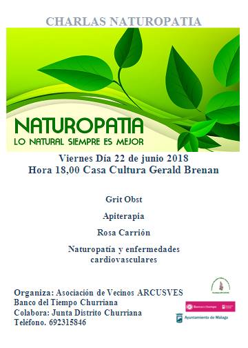 charla naturopatia