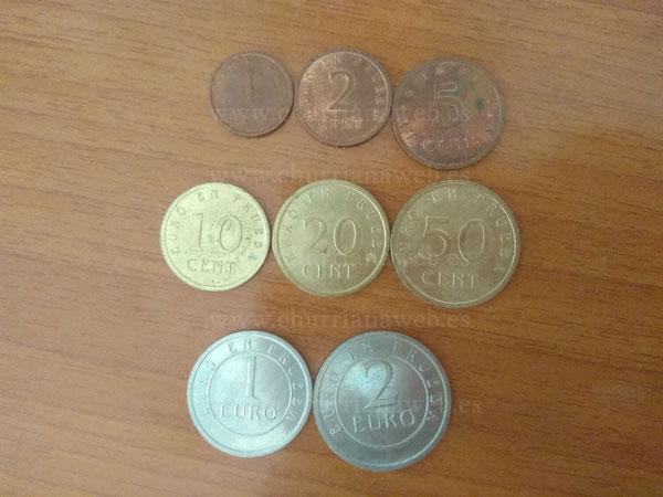 euro en prueba