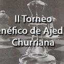 II Torneo benéfico de Ajedrez Churriana