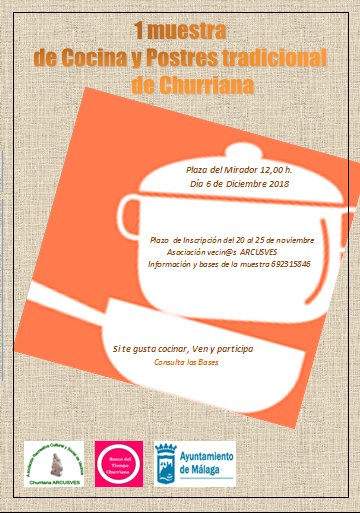 muestra cocina churriana