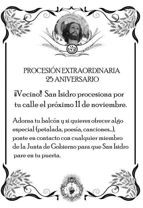 procesion 25 aniversario
