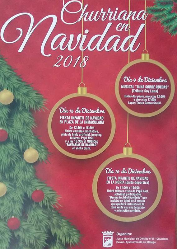 churriana en navidad