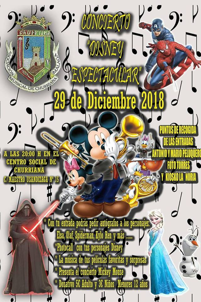 concierto disney churriana