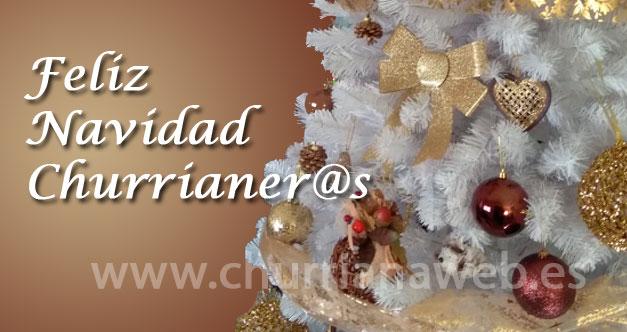 feliz navidad churriana