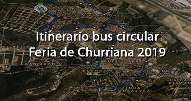 itinerario circular bus