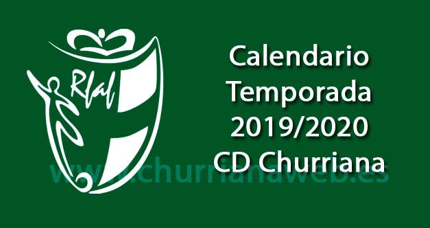 calendario temporada 2019/2020