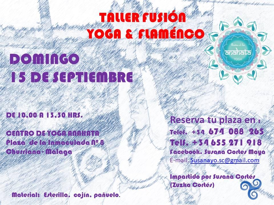 taller yoga flamenco