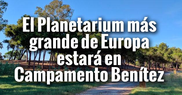 campamento benitez planetarium