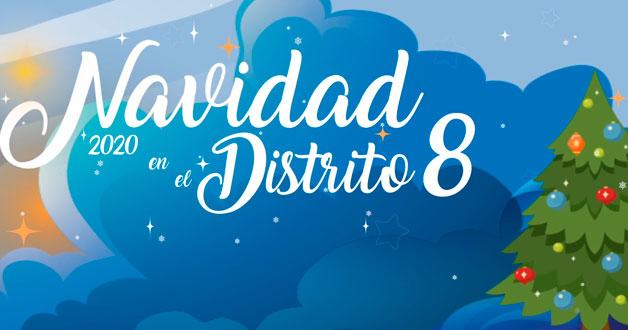 navidad distrito 8
