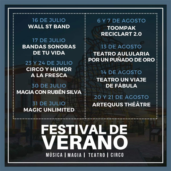 festival de verano plaza mayor